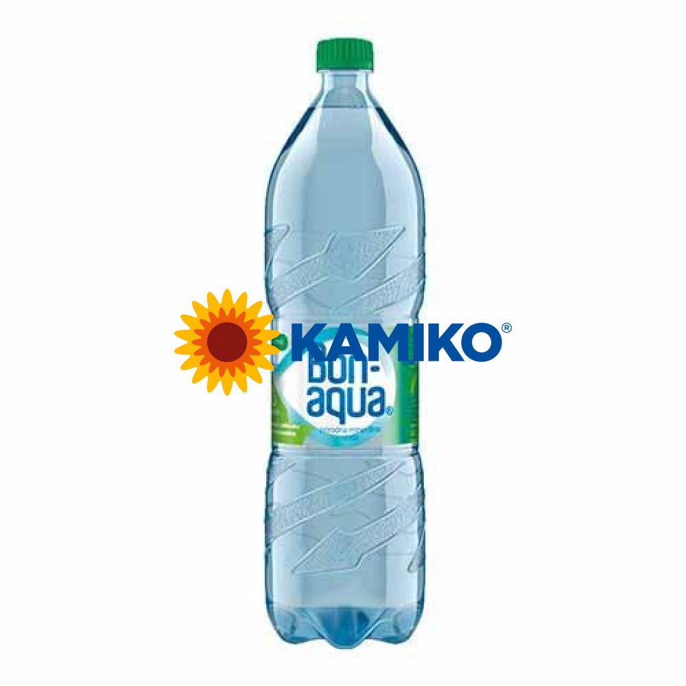 Pramenitá voda Bonaqua jemne sýtená 1,5l