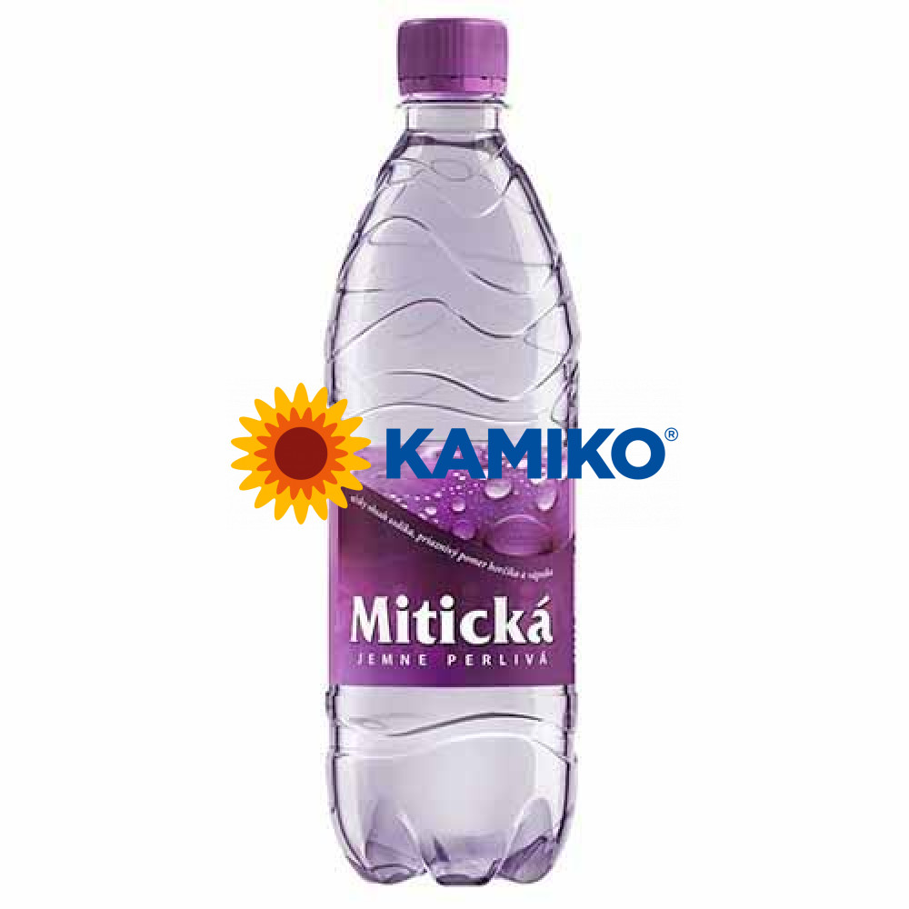 Minerálna voda Mitická jemne sýtená 0,5l