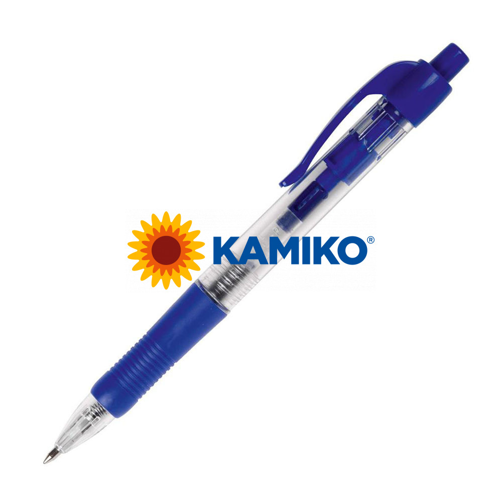 Guľôčkové pero CONNECT klikacie modré