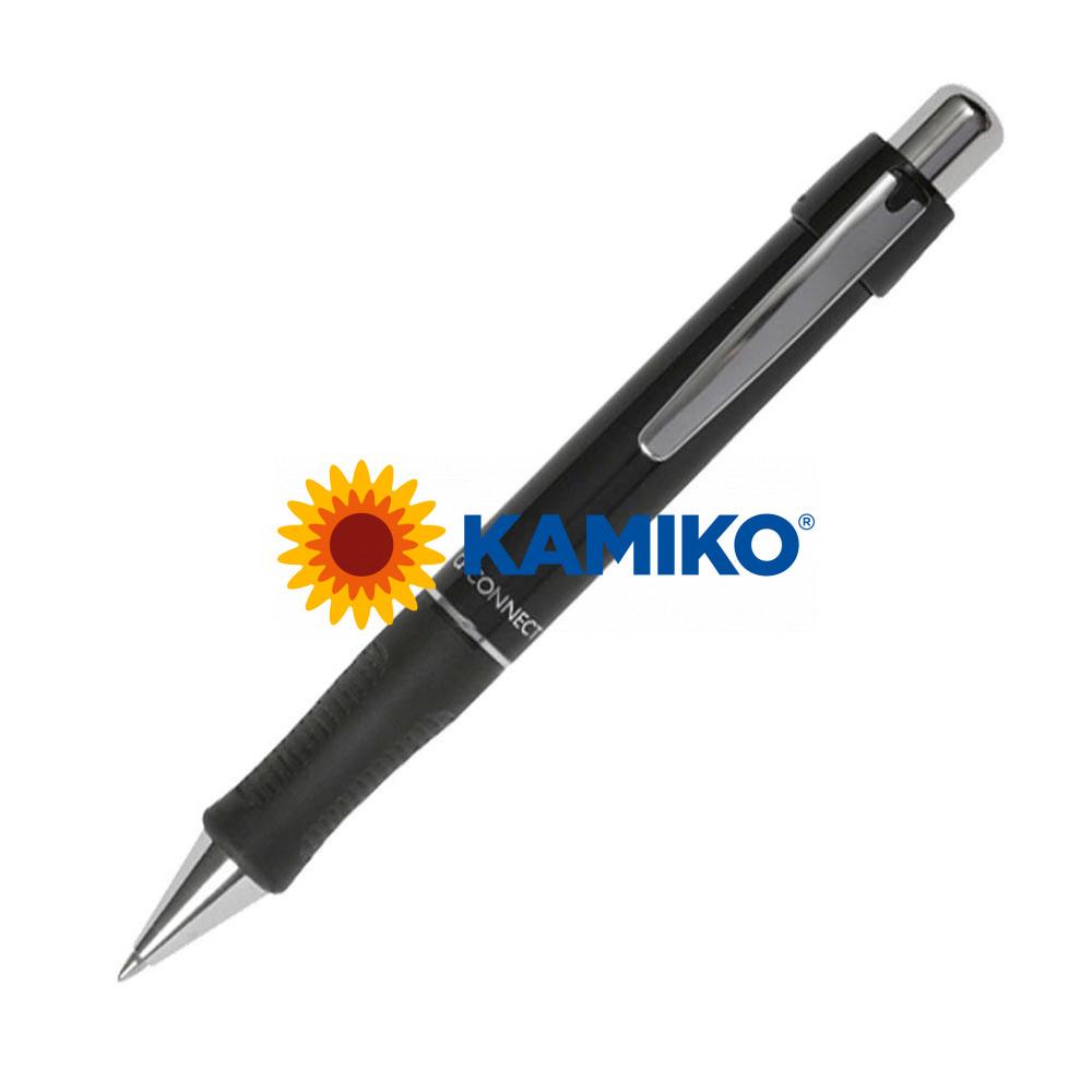 Guľôčkové pero Q-CONNECT Alfa sivé