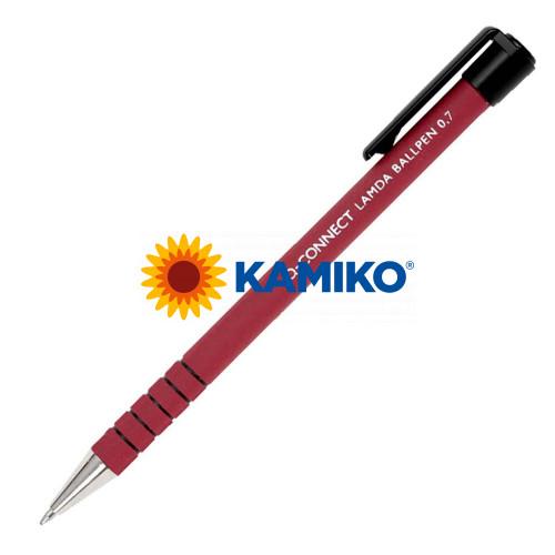 Guľôčkové pero Q-CONNECT Lamda červené