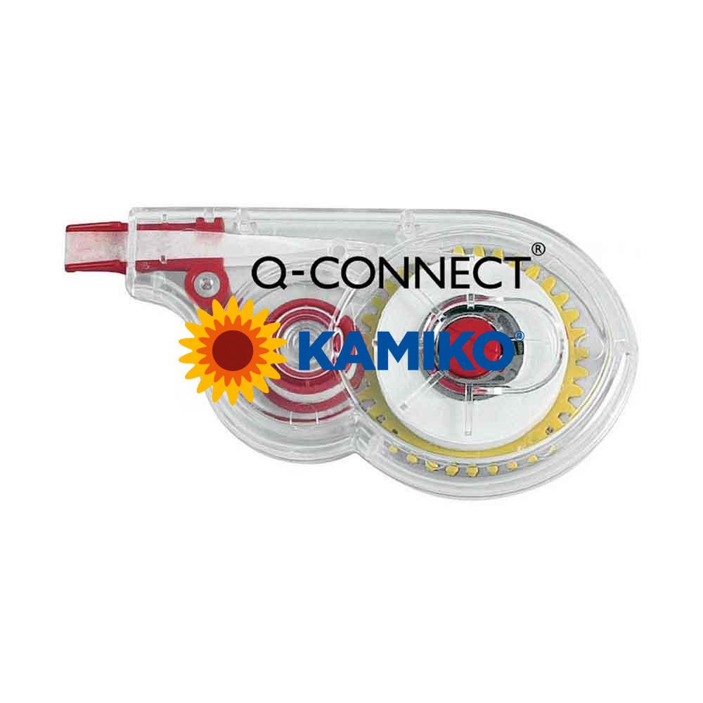 Korekčný roller Q-CONNECT jednorázový s bočnou korekciou 5 mm x 8 m