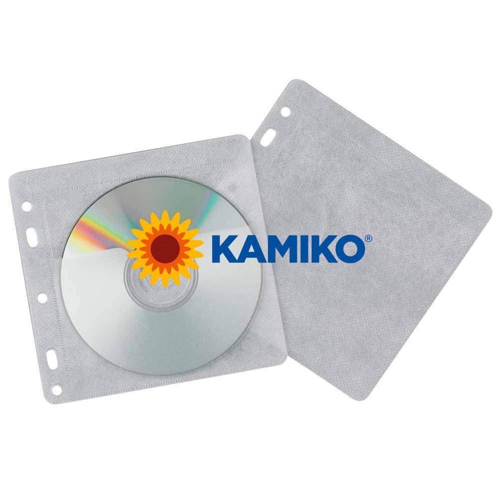 Vrecká na CD/DVD Q-Connect závesné, 40 ks