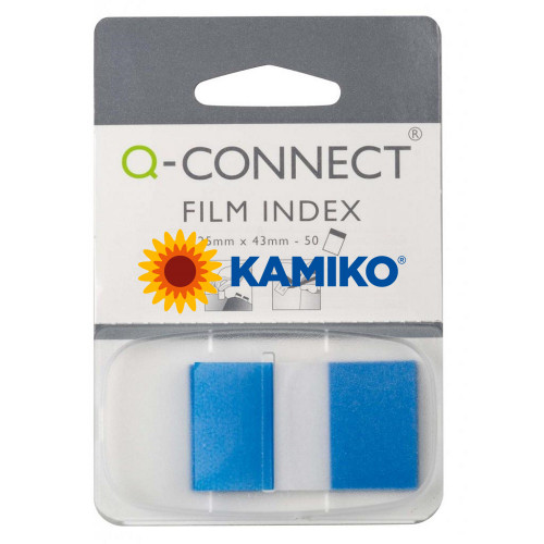 Index Q-CONNECT široký modrý