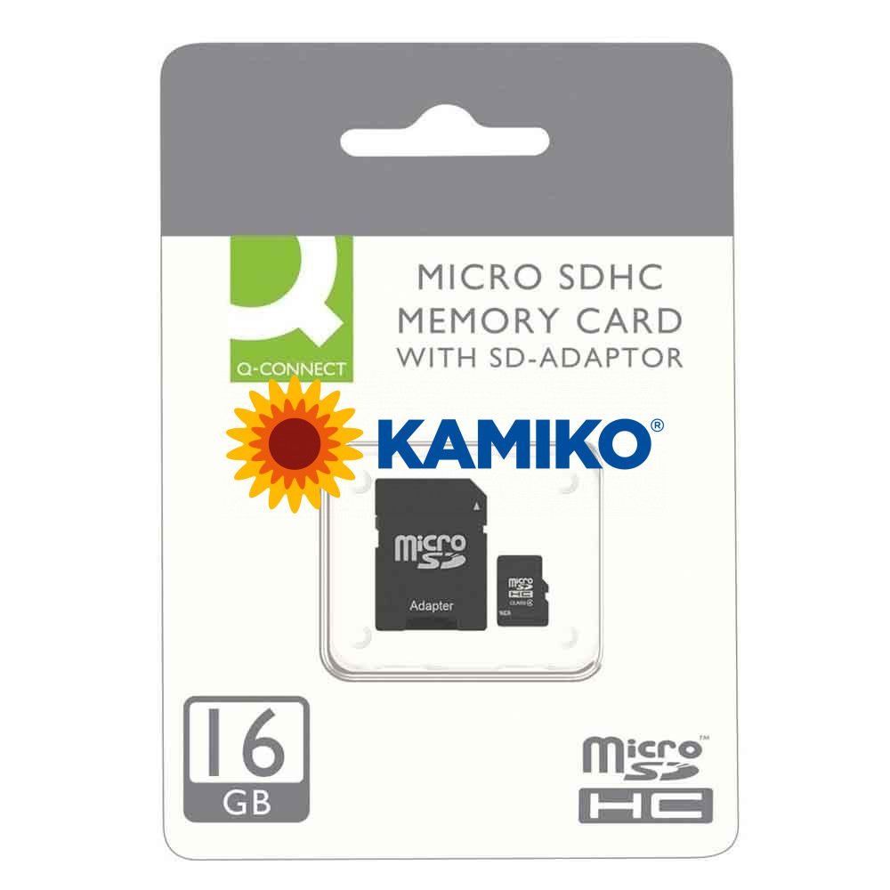 Pamäťová karta micro SDHC Q-connect 16 GB