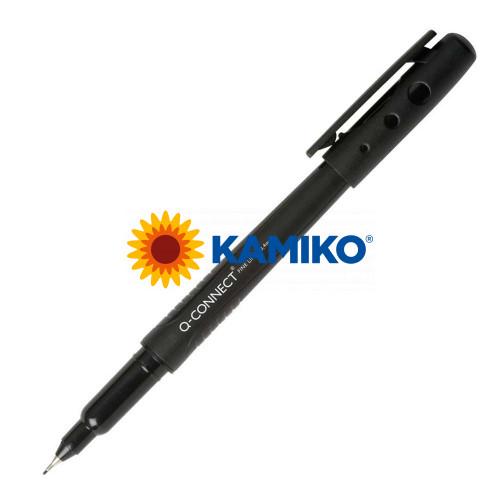 Liner Q-CONNECT 0,4 mm čierny