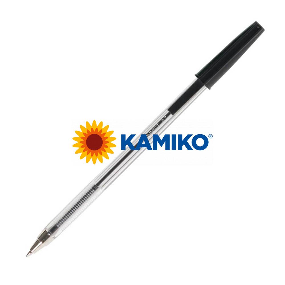 Guľôčkové pero jednorazové Q-CONNECT M čierne