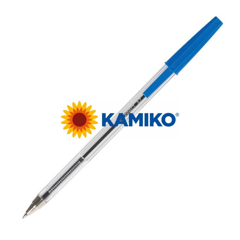 Guľôčkové pero jednorazové Q-CONNECT M modré