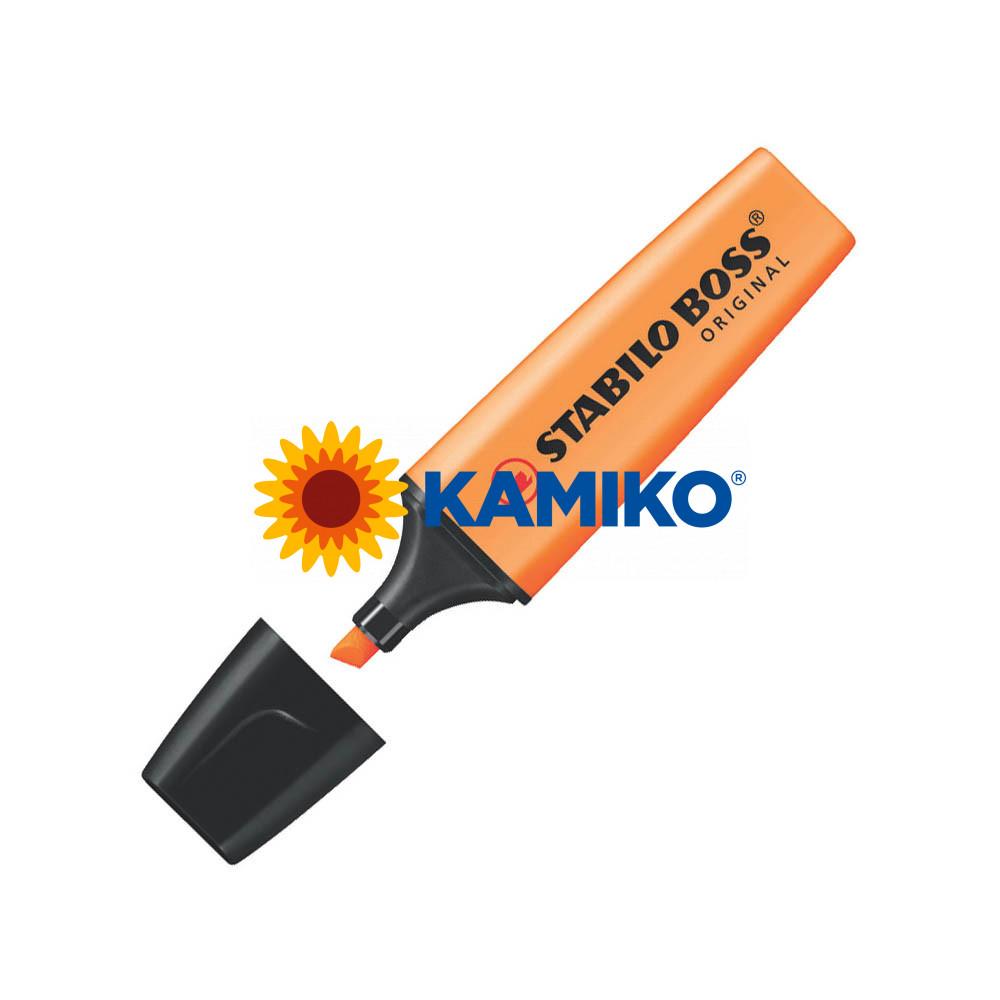 Zvýrazňovač STABILO BOSS ORIGINAL oranžový