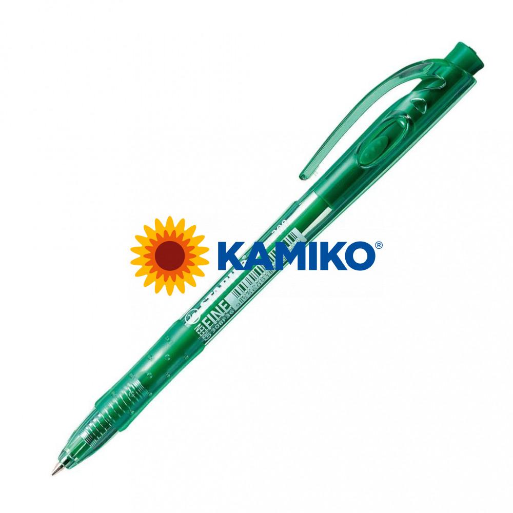 Guľôčkové pero STABILO Liner 308 zelené