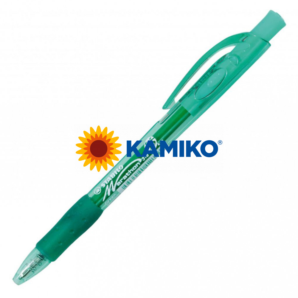 Guľôčkové pero STABILO Marathon 318 zelené