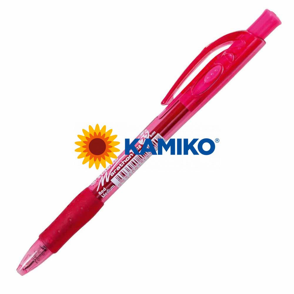 Guľôčkové pero STABILO Marathon 318 červené
