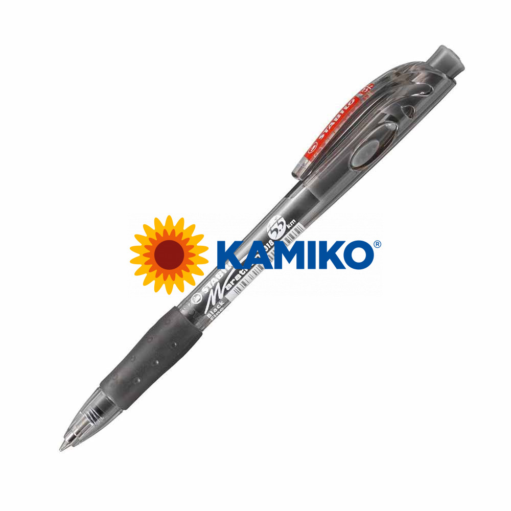Guľôčkové pero STABILO Marathon 318 čierne