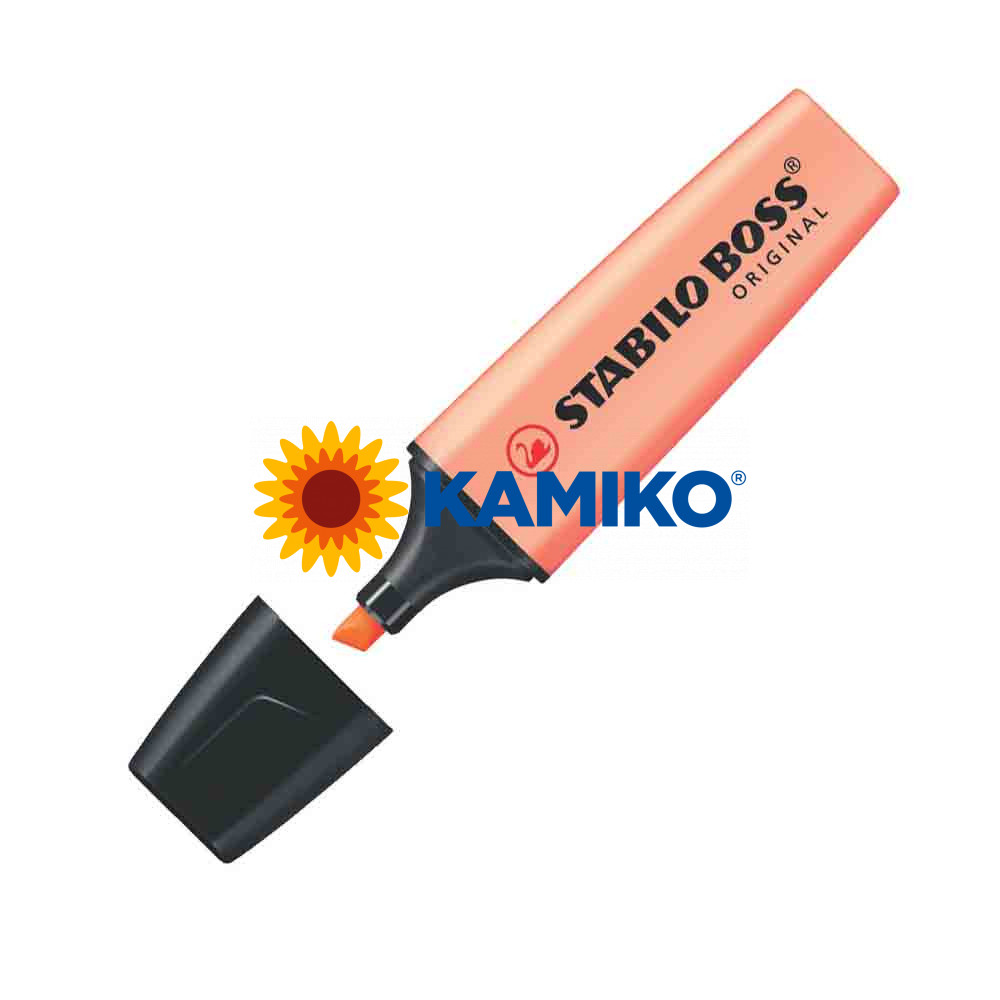 Zvýrazňovač STABILO BOSS ORIGINAL pastelový broskyňový