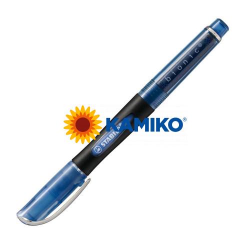 Roller gélový  STABILO bionic modrý
