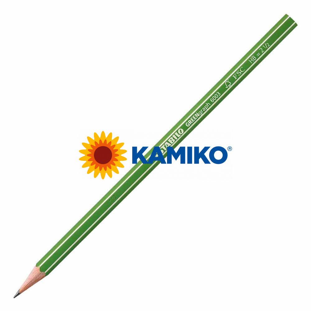 Ceruzka STABILO GREENgraph HB, 12 ks