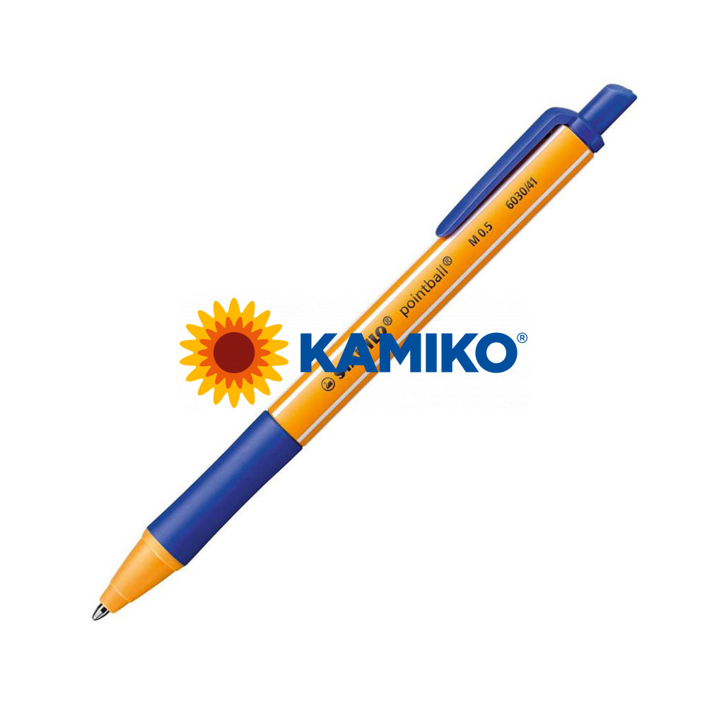 Guľôčkové pero STABILO pointball modrý