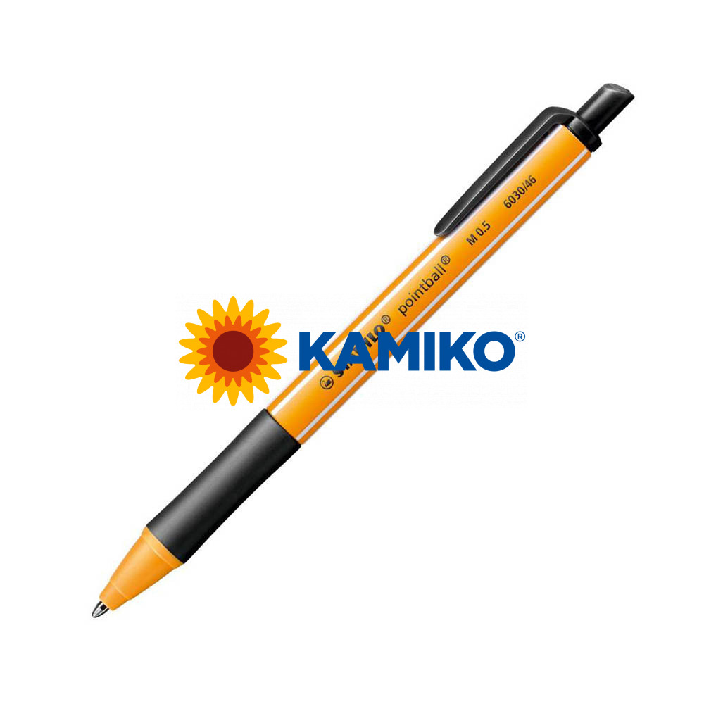 Guľôčkové pero STABILO pointball čierne