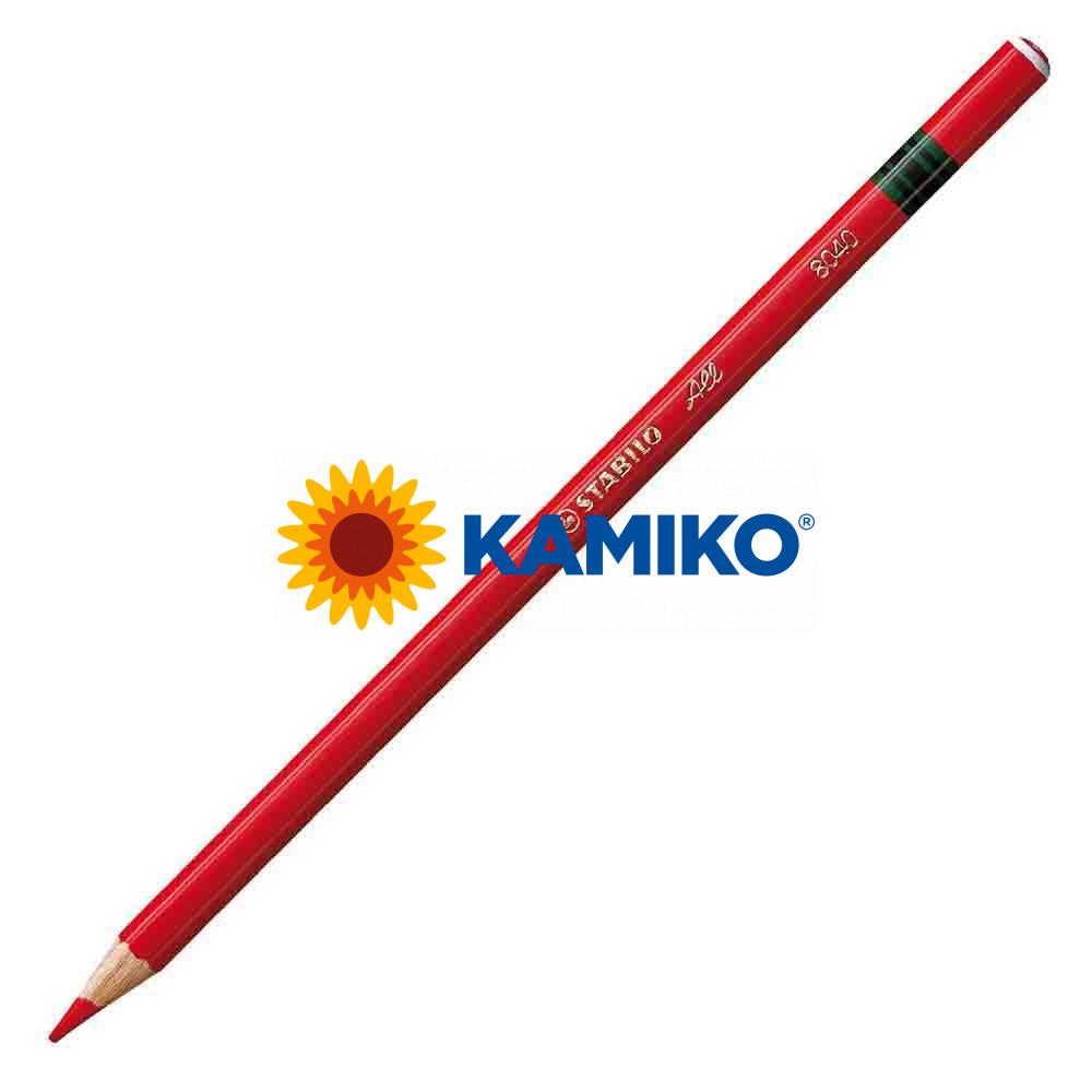 Farebná ceruzka STABILO All červená, 12 ks