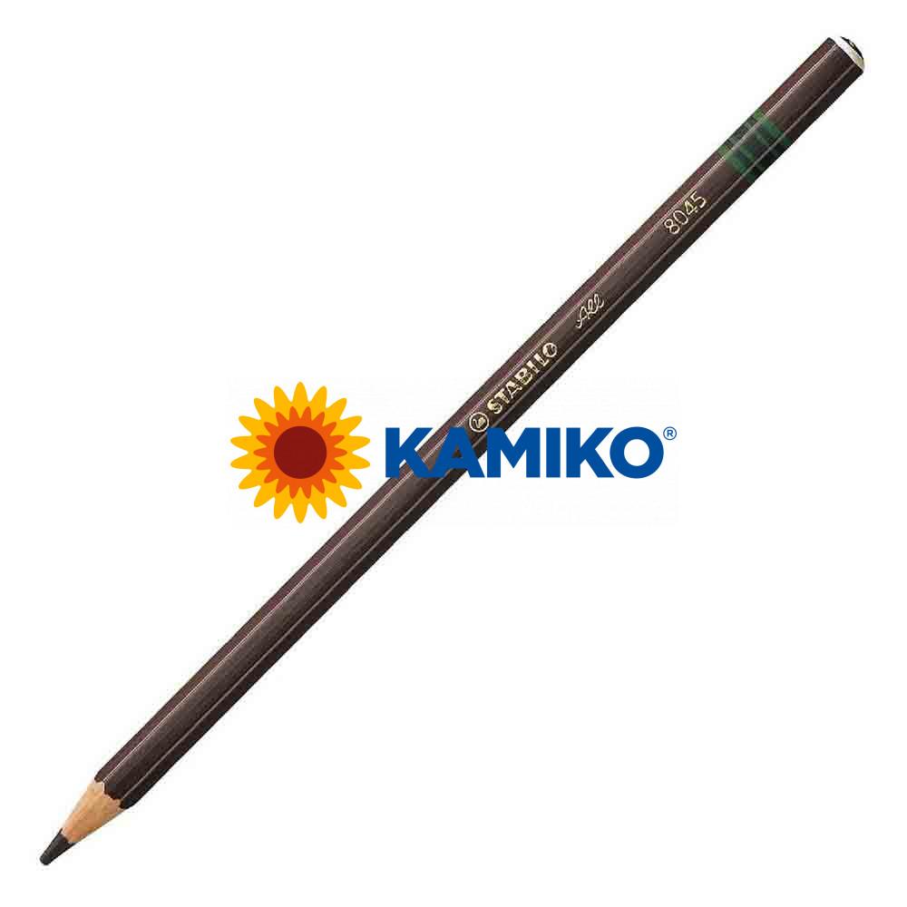 Farebná ceruzka STABILO All hnedá, 12 ks