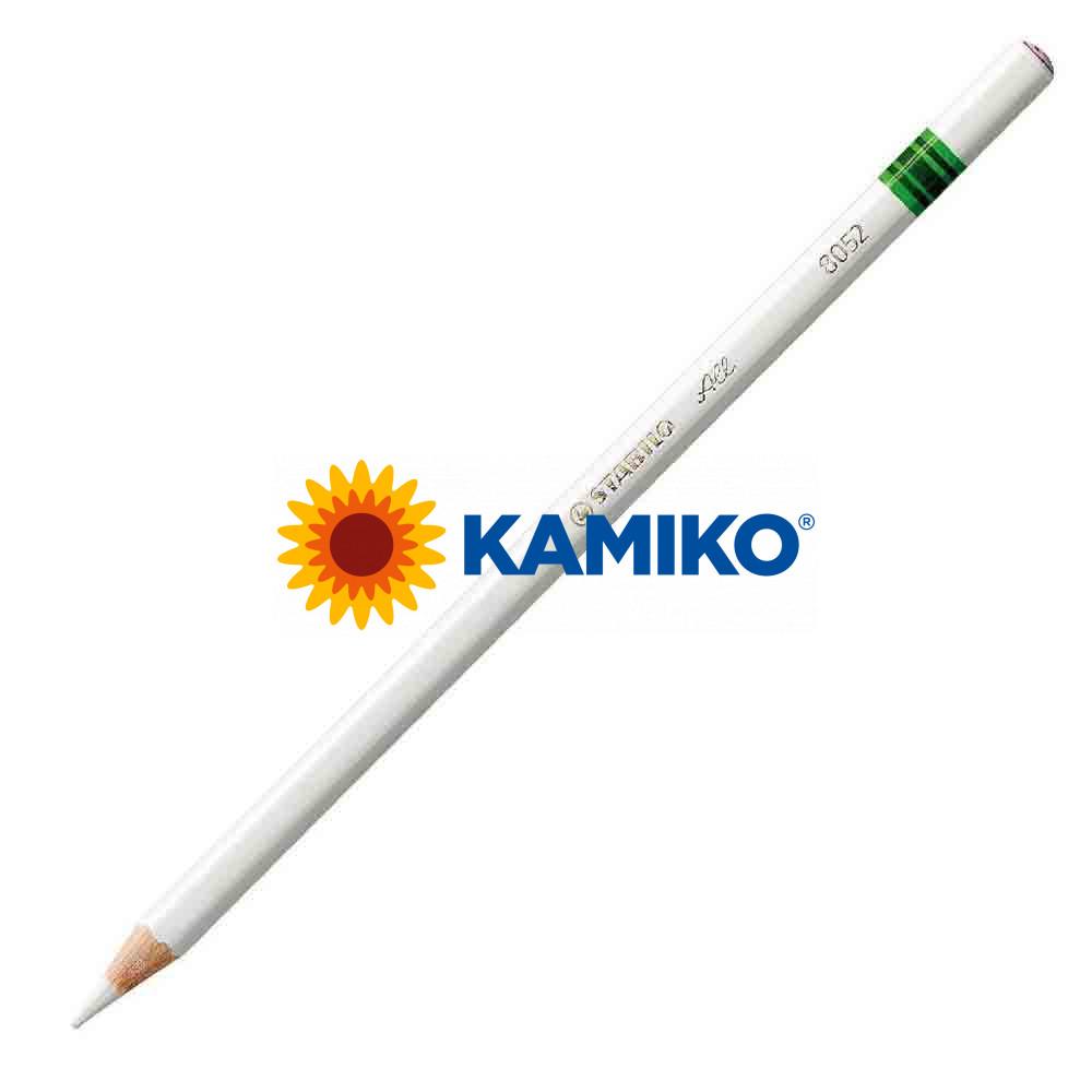 Farebná ceruzka STABILO All biela, 12 ks