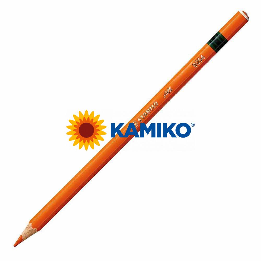 Farebná ceruzka STABILO All oranžová, 12 ks