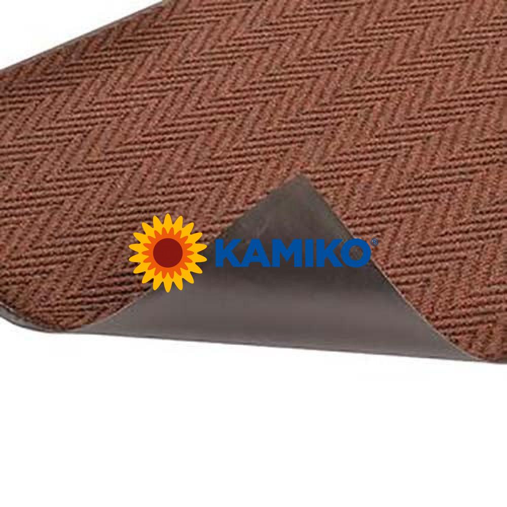 Interiérová rohož ARROWTRAX 90 x 150 cm, hnedá