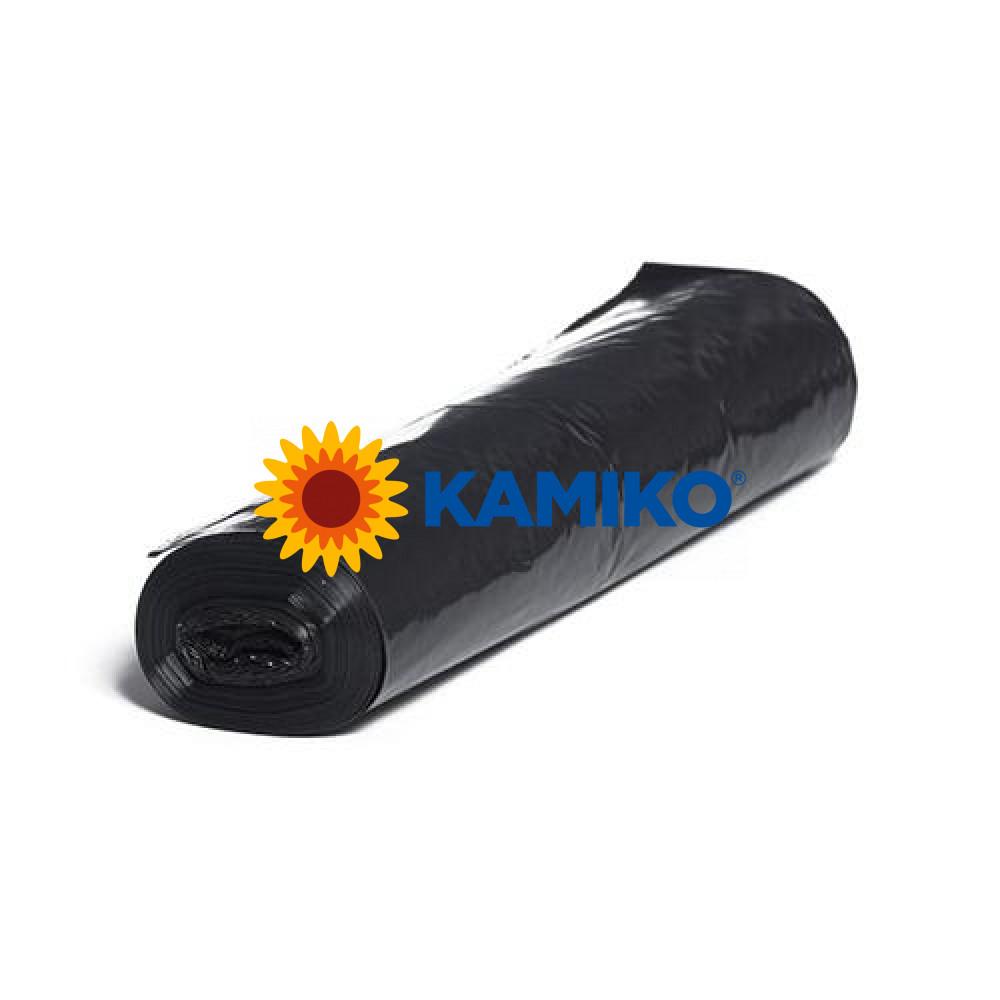 Sáčky 60x70cm, 60 L, 40mi, čierne pevné