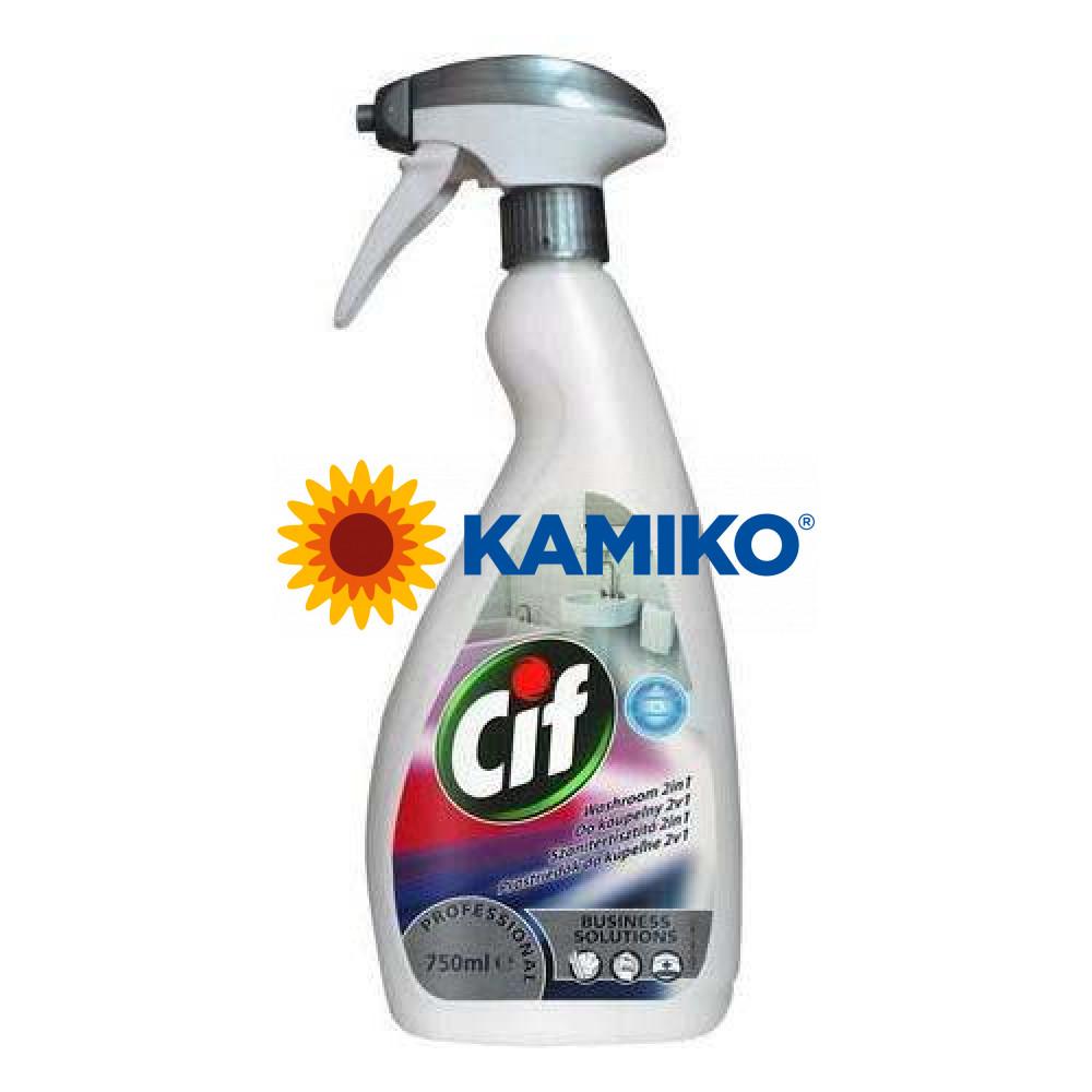 CIF PROFESSIONAL WASHROOM 2v1 750ml čistiaci prostriedok do kúpelní, mechanický rozprašovač