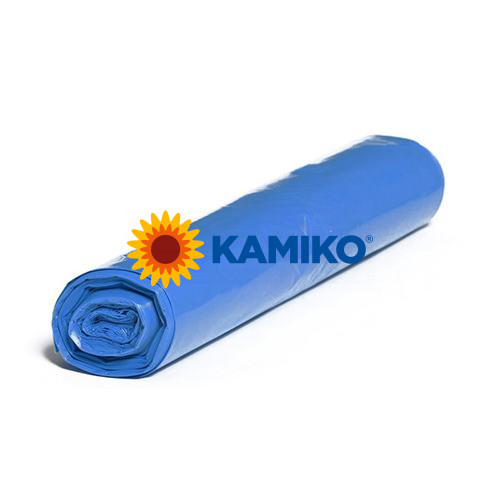 Plastové vrecia LDPE 100 x 120 cm, 240 l, typ 50, modré