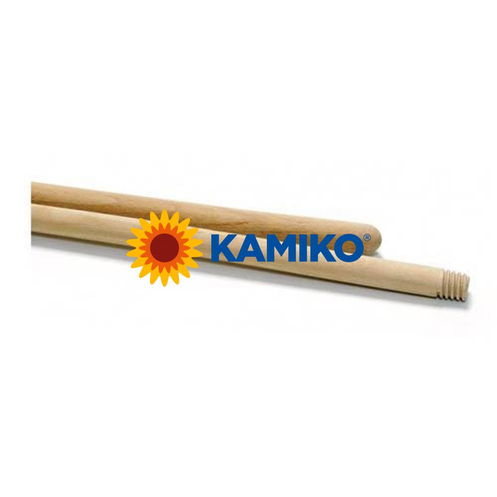 Násada drevená 120 cm so závitom, pr. 24 mm