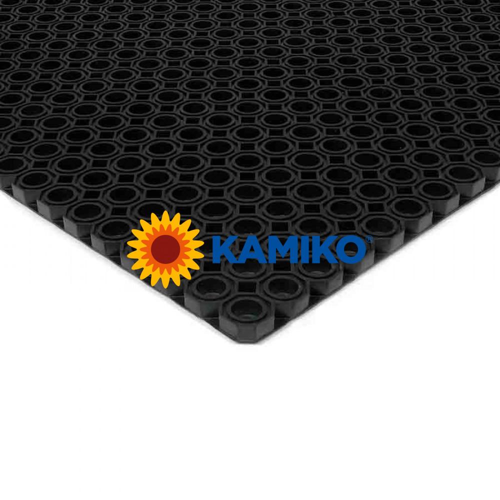Exteriérová rohož OCTOMAT 60 x 80 cm, čierna