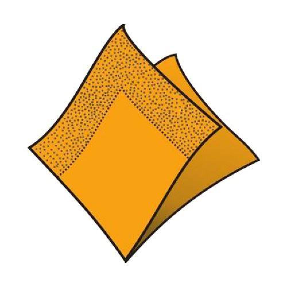 Servítky 33 x 33 cm, 3 vrstvy, oranžové