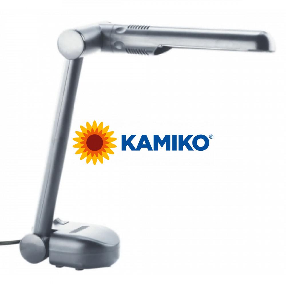 Energeticky úsporná stolová lampa MAULeasy strieborná