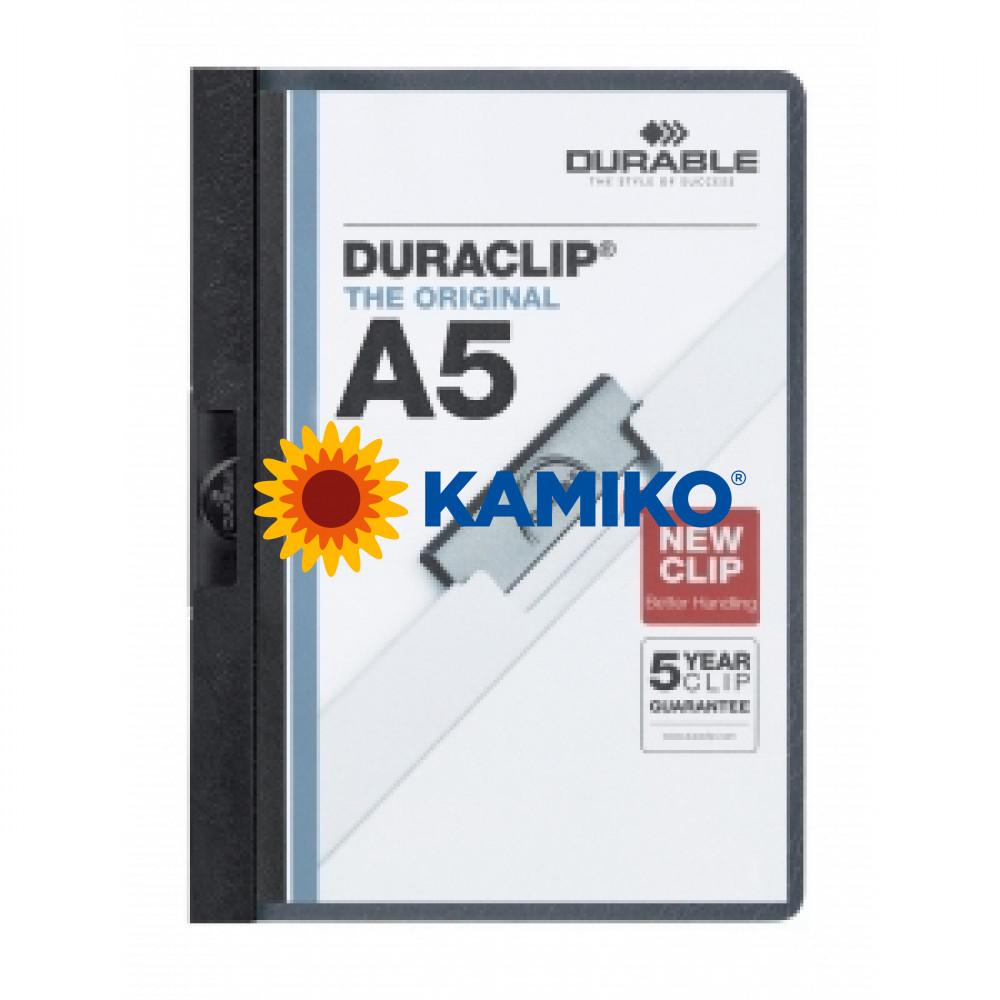 DURACLIP A5 čierny
