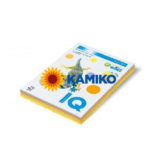 Kopírovací papier 80g A4 IQ color 5x50 mix trendové farby