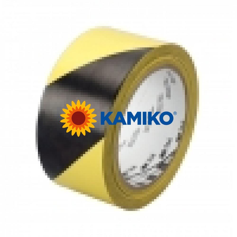 Vyznačovacia páska 3M žlto-čierna 50 mm x 33 m