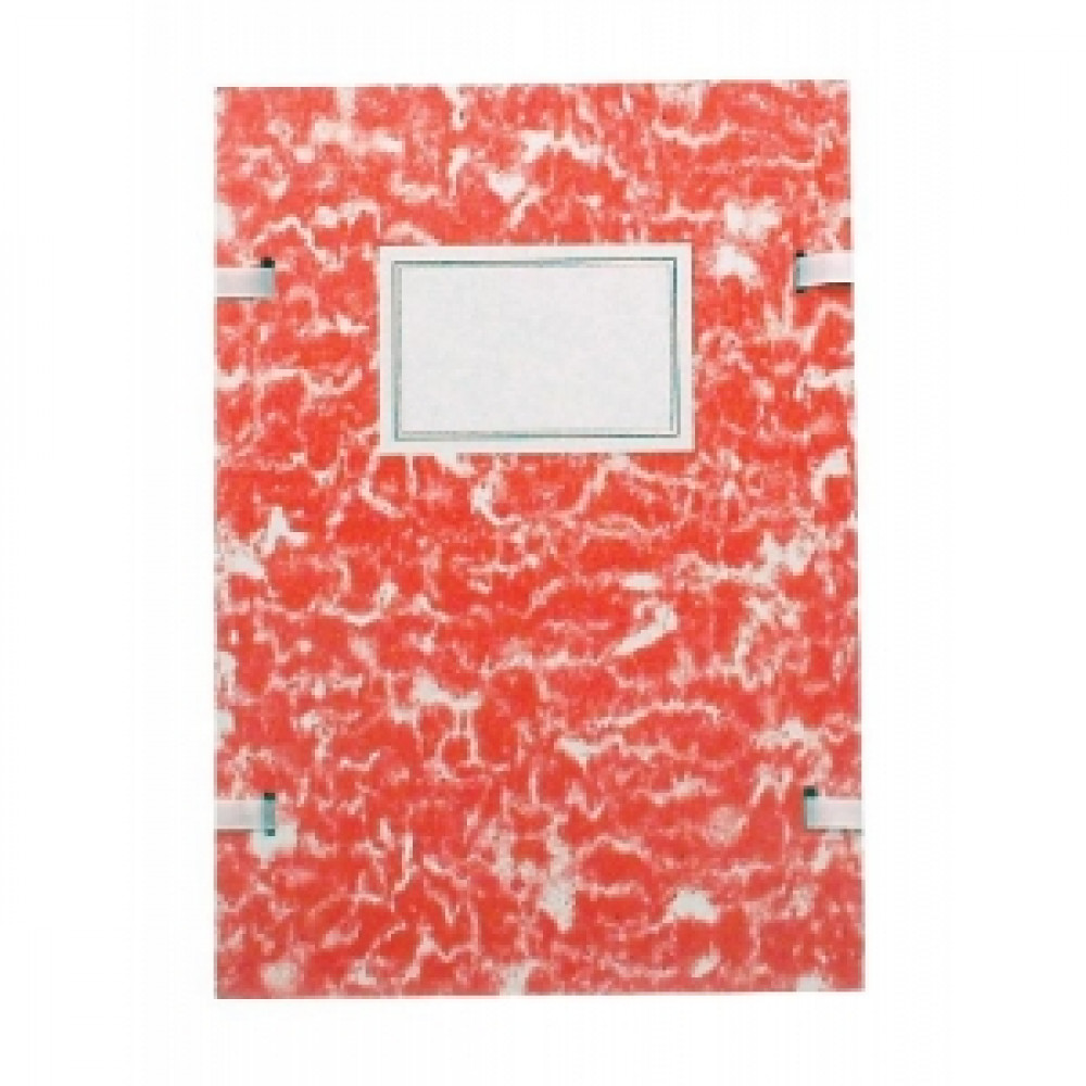 Spisové dosky A4 mramor červené