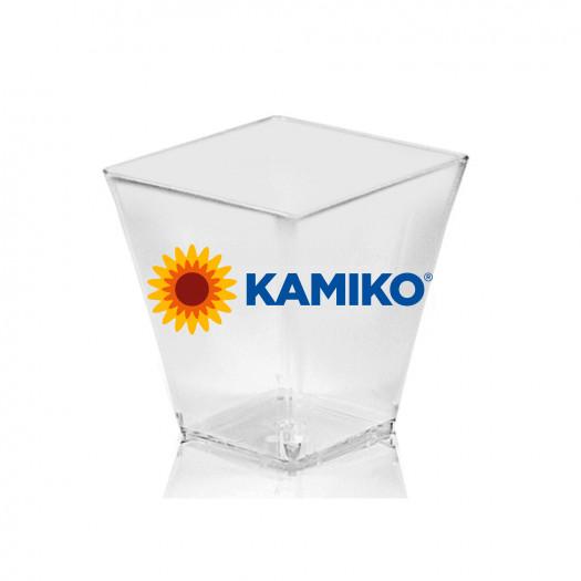 Fingerfood pohárik hranatý 230 ml, číry