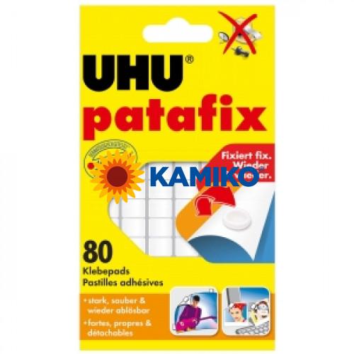 Lepiace štvorčeky UHU patafix biele