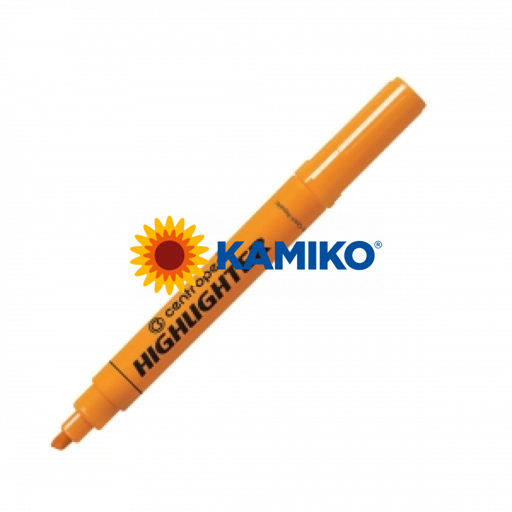 Zvýrazňovač Centropen 8552 (8852) oranžový