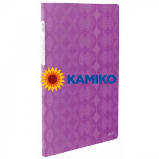 Katalógová kniha 20 A4 Leitz Retro Chic fialová