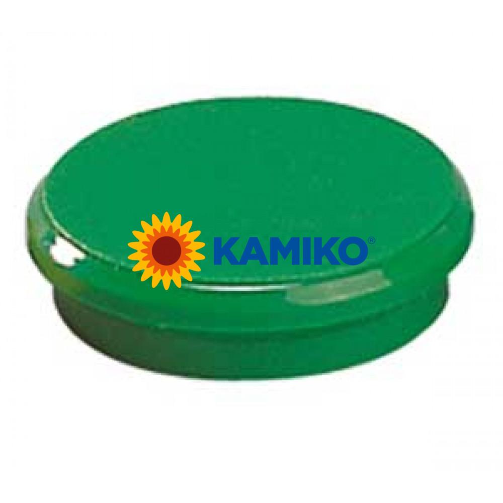 Magnet 24 mm zelený