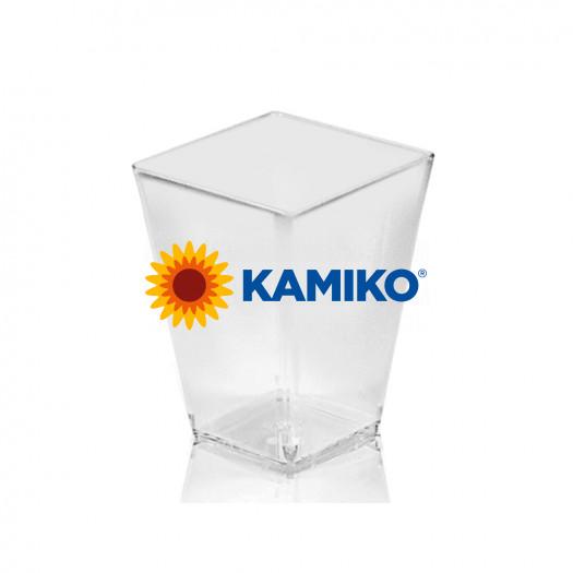 Fingerfood pohárik hranatý 160 ml, číry