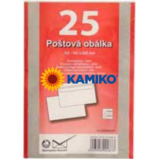 Poštové obálky C5 samolepiace, 25 ks