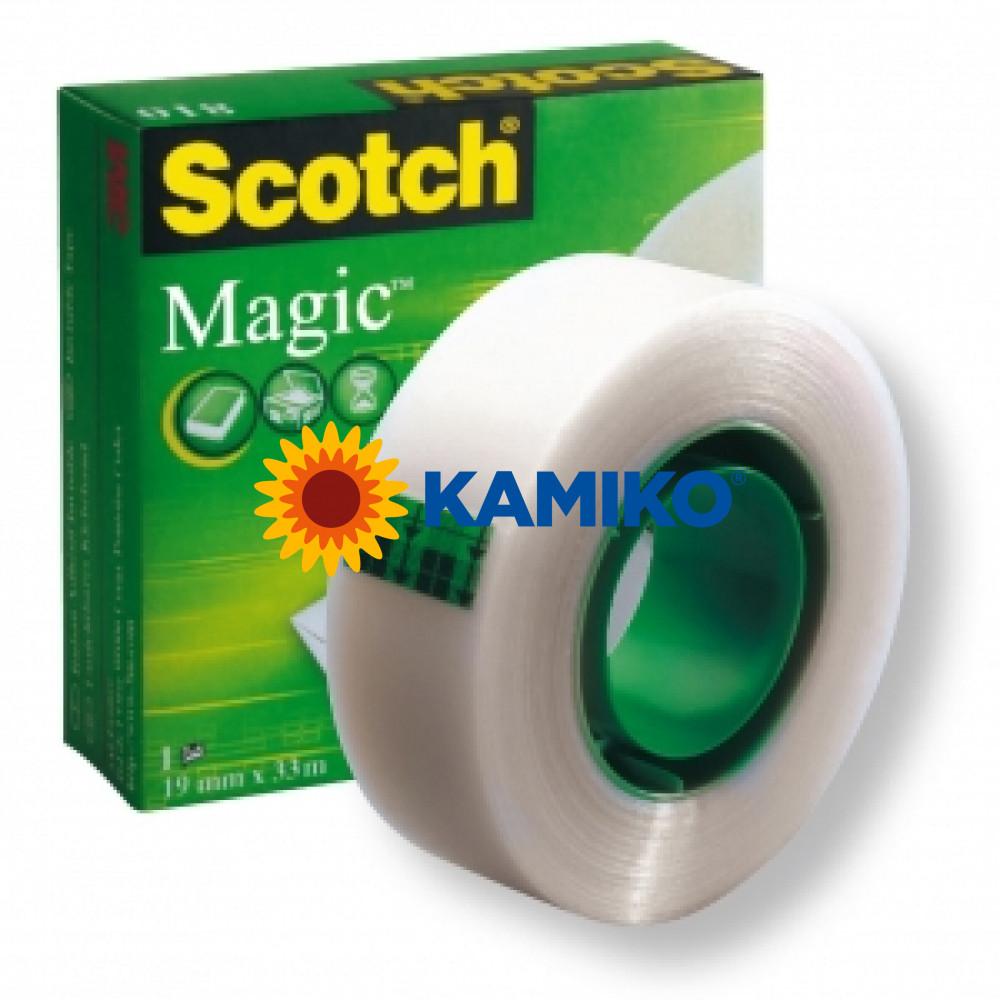 Lepiaca páska Scotch Magic v krabičke neviditeľná 19 mm x 33 m