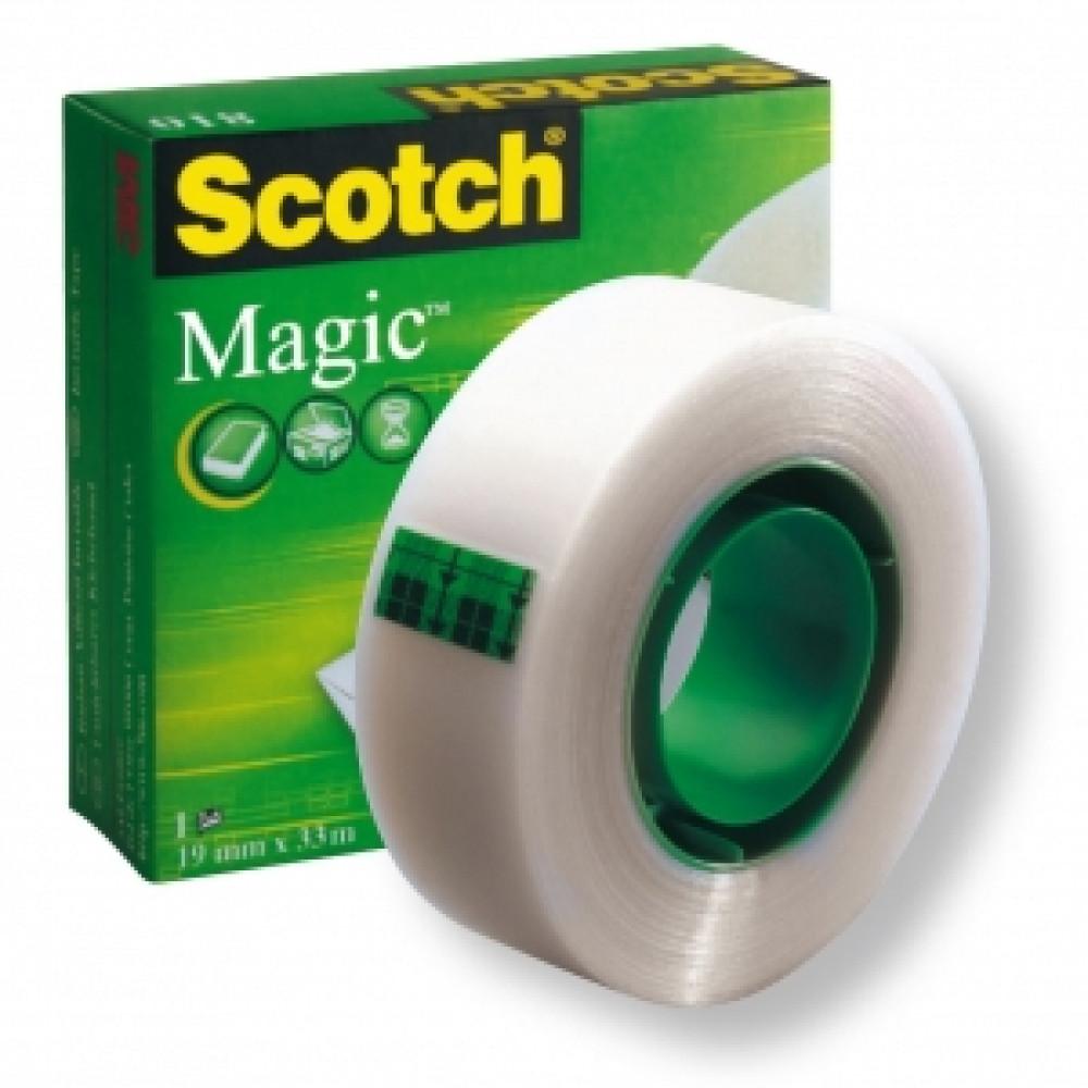 Lepiaca páska Scotch Magic v krabičke 19mm x 33m