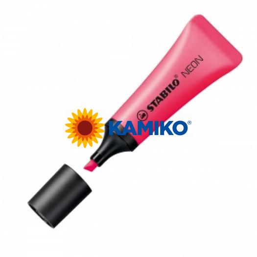 Zvýrazňovač Stabilo NEON ružový