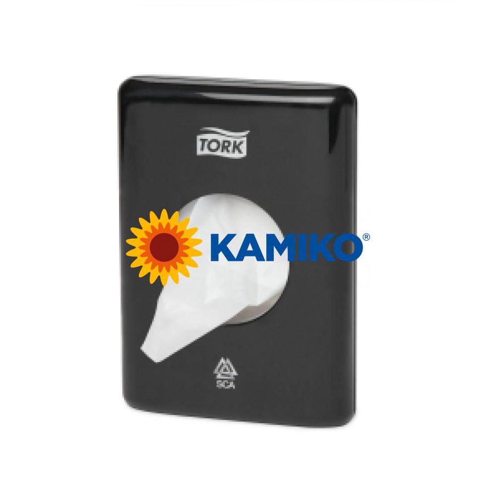Zásobník na hygienické vrecká TORK, čierny