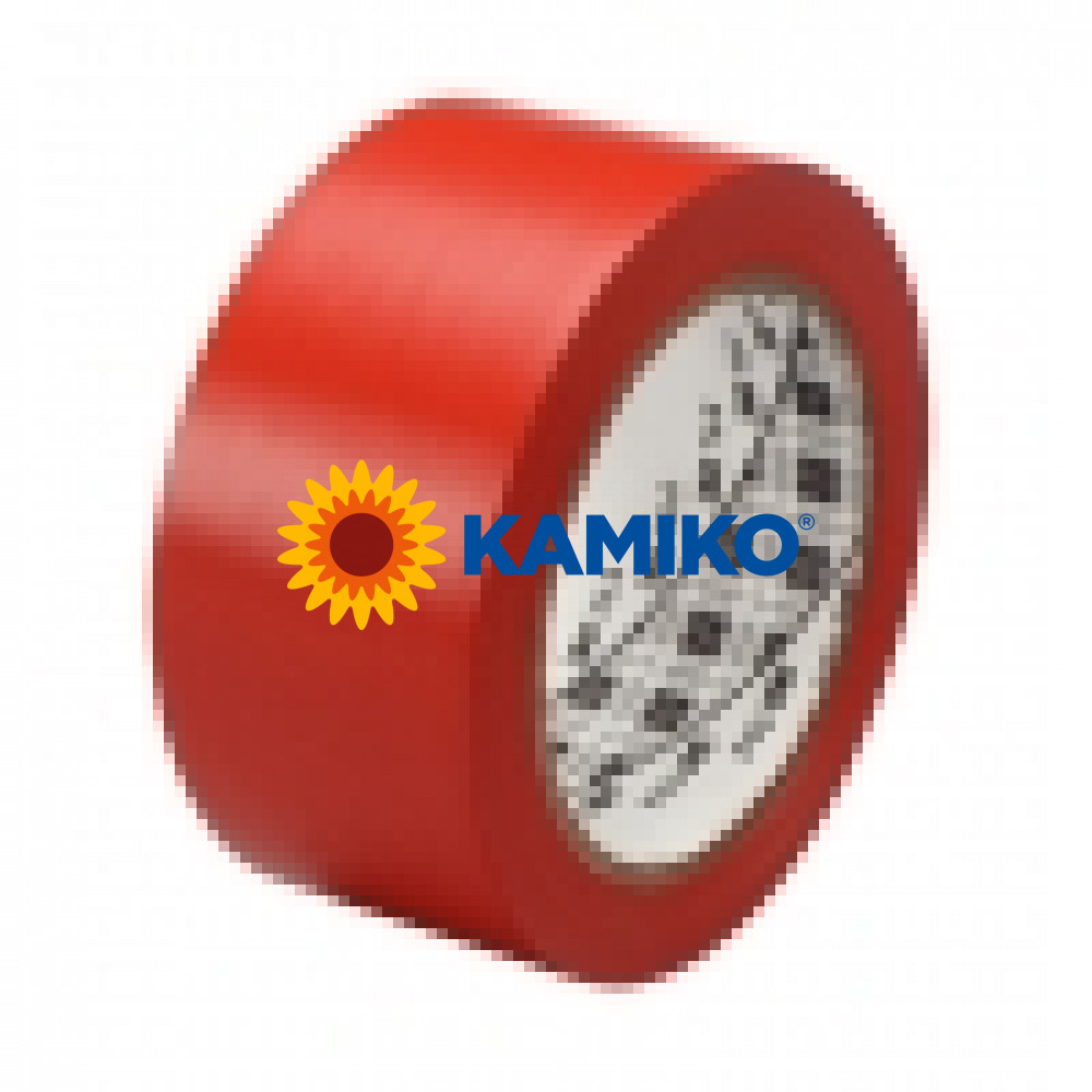 Vyznačovacia páska 3M červená 50 mm x 33 m